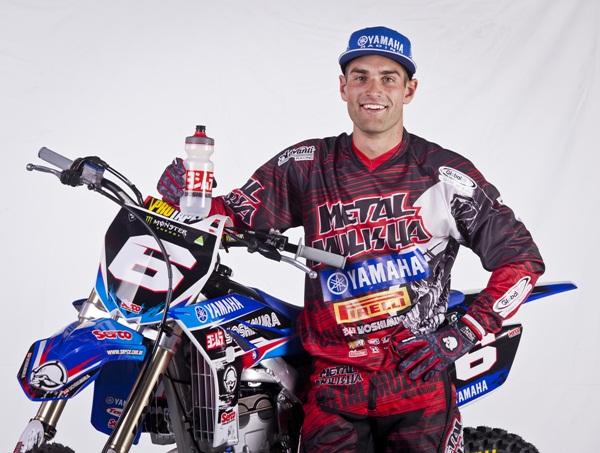 Luke Styke will wear the number 6 in 2012.