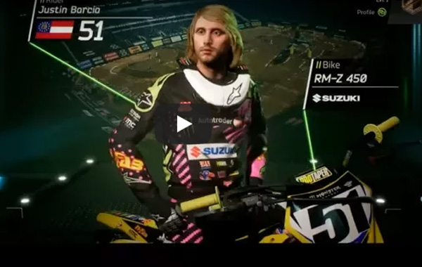 SUPERCROSS THE GAME |NEW VIDEO