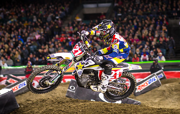 Andersons podium finish extends his points lead in 450 rider point standings_