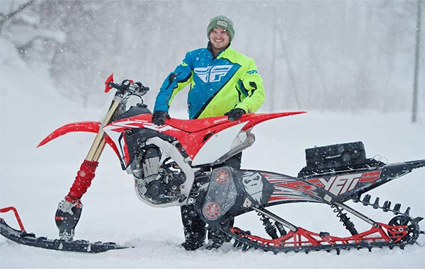 AUSSIE MAT COX TO RACE X-GAMES SNOW BIKE