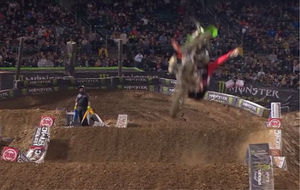 VIDEO | TYLER BOWERS OAKLAND CRASH
