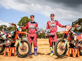 KTM Enduro Racing Team - Snodgrass and Milner