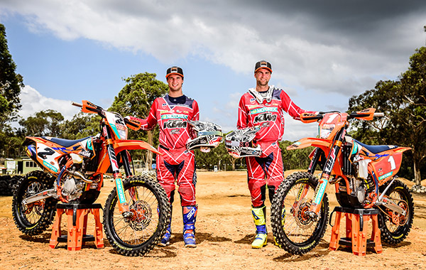 KTM Enduro Racing Team - Snodgrass and Milner