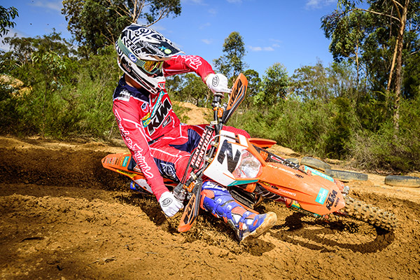 KTM Enduro Racing Team - KTM 450 EXC-F - Lyndon Snodgrass - Action