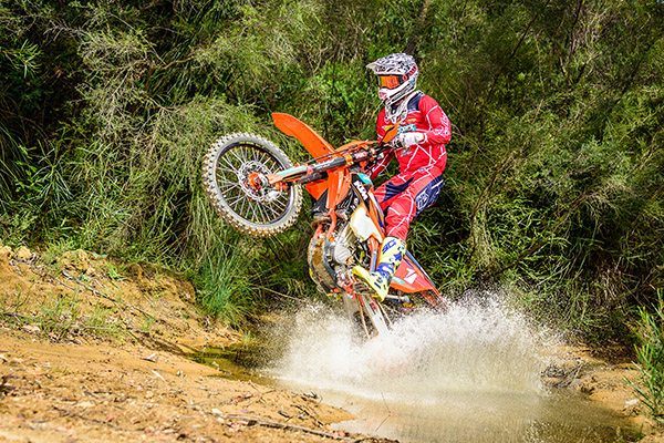 KTM Enduro Racing Team - KTM 500 EXC-F - Daniel Milner - Action