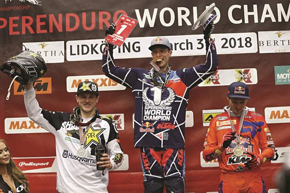 Cody Webb Taddy Blazusiak Podium Sweden 2018 © Future7media
