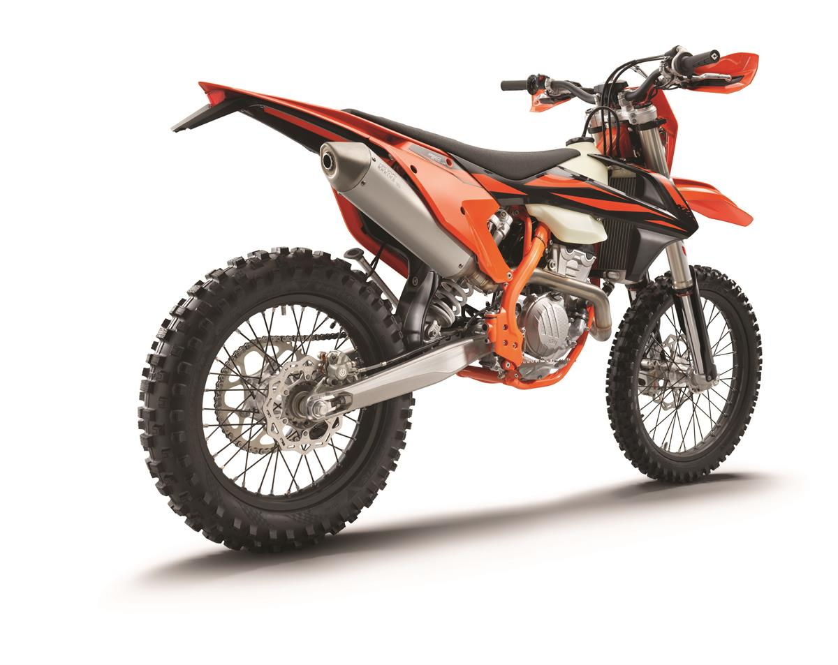 Ktm 350 Exc F My2019 Right Rear