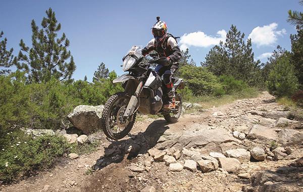 Ktm 790 Adventure R P2 In Action