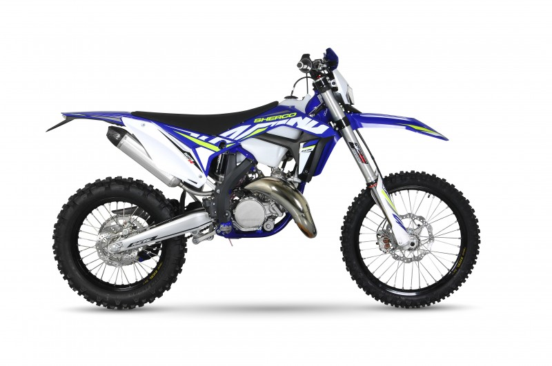 Sherco is leading the charge to bring the 125 back to offroad - let ya screaming dinger fly free!