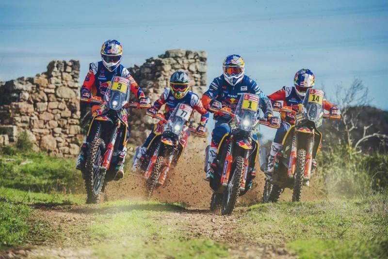Ktm Dakar Action Team 4 2019