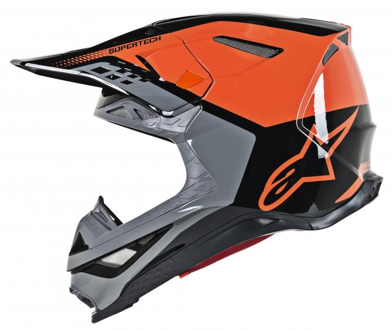8301219 4184 R2 Supertech S M8 Triple Helmet