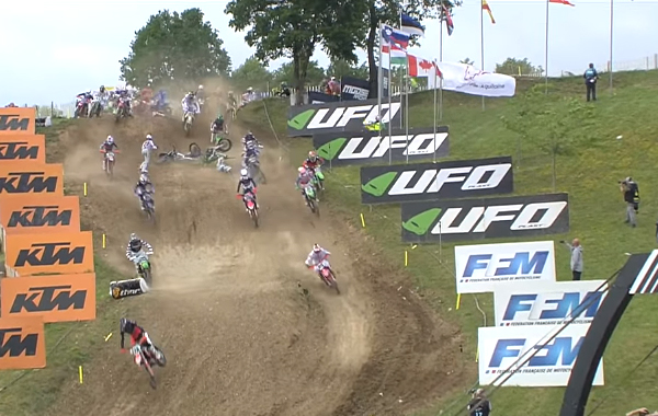 VIDEO | MXGP OF FRANCE QUALIFYING CRASH | Dirt Action