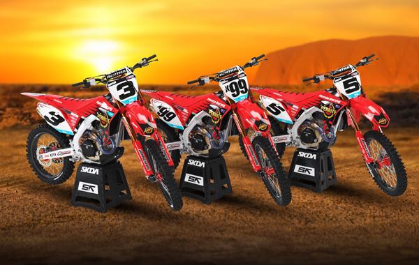 Honda Desert Racing