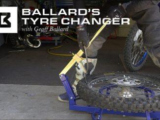 Ballards Tyre Changer