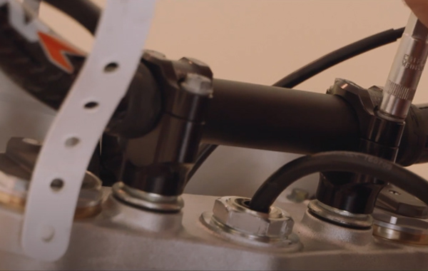 How To Install Dirt Bike Handlebars