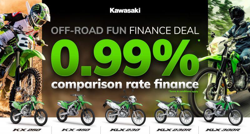 Offroad Fun Finance Deal Main Banner