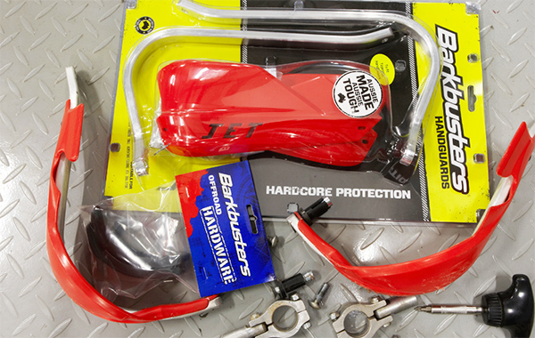 How To Fit Handguards To Your Dirt Bike