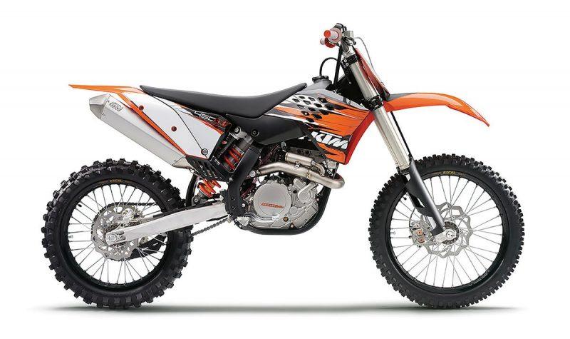 Ktm 450sxf 2010