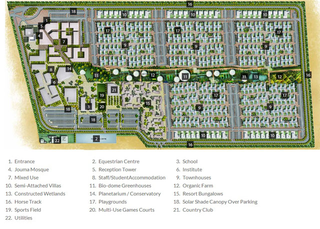 Dubai S Sustainable City Is First Of Its Kind Project Ods