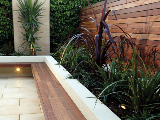Get creative with hardwood timber project ods for Garden feature screens