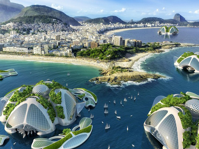 Archibiotec Vincent Callebaut Is In The Research And Development Stages Of A 3D Printed Oceanscraper Called AEQUOREA Futuristic Underwater Farm