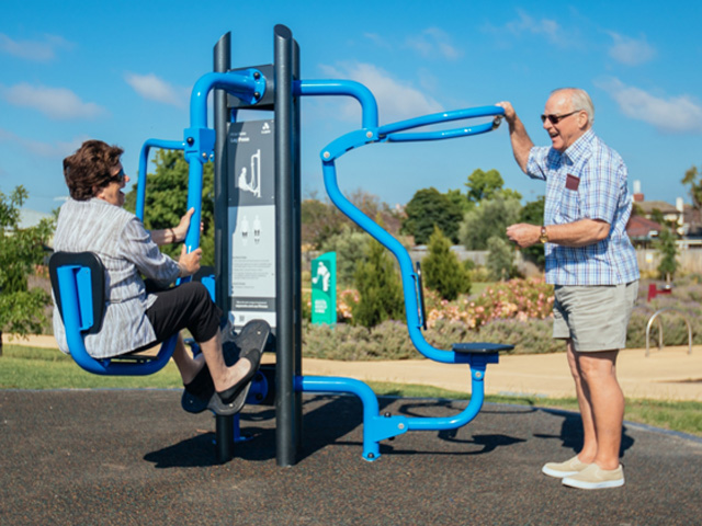 Seniors Thrive in Outdoor Gyms - Project | ODS