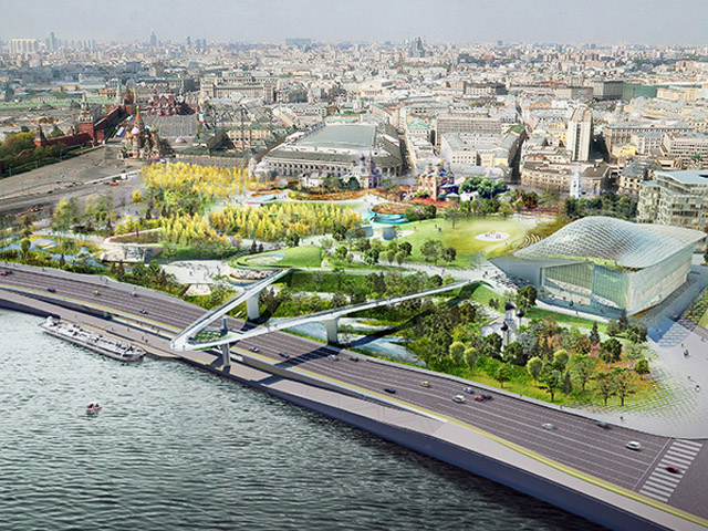 The Last Park Designed By Landscape >> Magical Moscow Park Project Ods