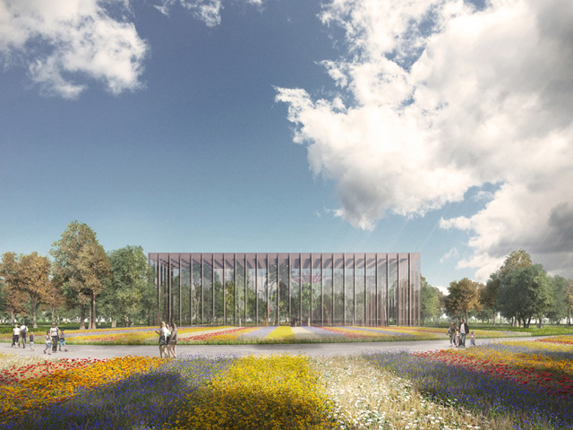Modelled On The Silk Road U2013 The Famous Trading Route That Linked The East  And West U2013 The Overhaul Of The Almaty Botanical Gardens In Kazakhstan Will  Once ...