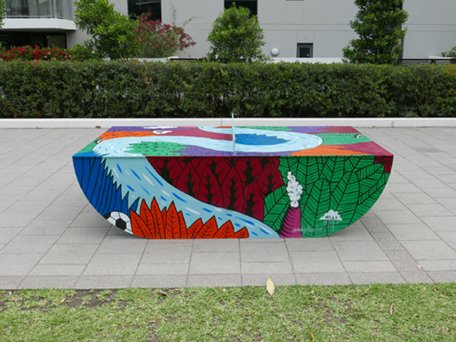 ... To Offer A Unique Way To Make Use Of An Under Utilised Public Space  While Cultivating And Enhancing Community Engagement. These Outdoor Ping  Pong Tables ...