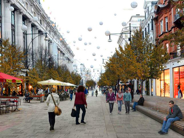 Pedestrianising London Project Ods