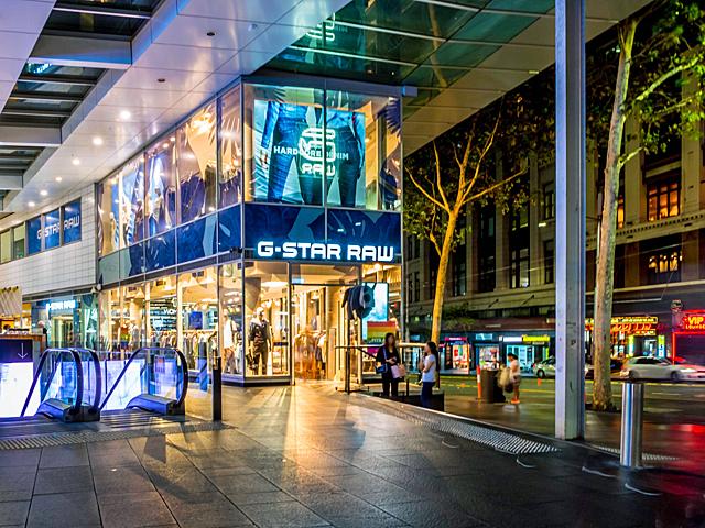 Sydney-City of Sydney-George Street-Pedestrian