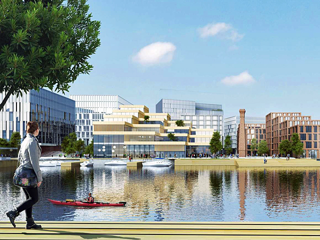 Belfast Waterside-Development-Henning Larsen-Render