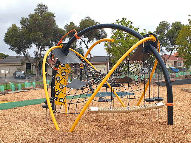 Moduplay, Spectra, Climbing structure, Playground, Rope climbing, Rock climbing