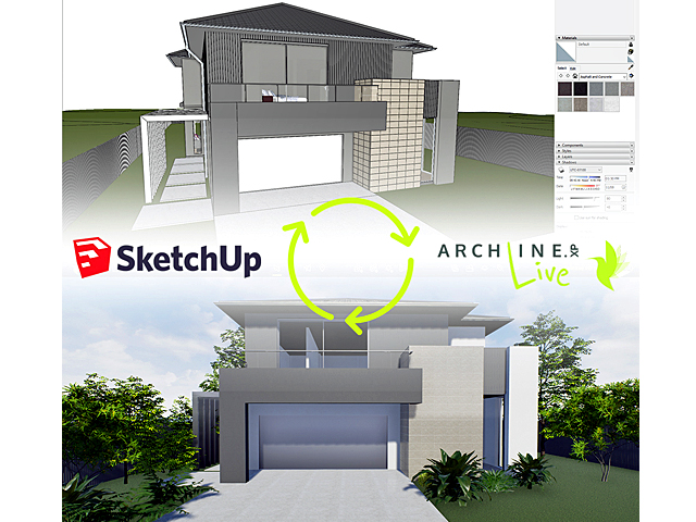 CAD International, Real-time rendering, ARCHLine.XP