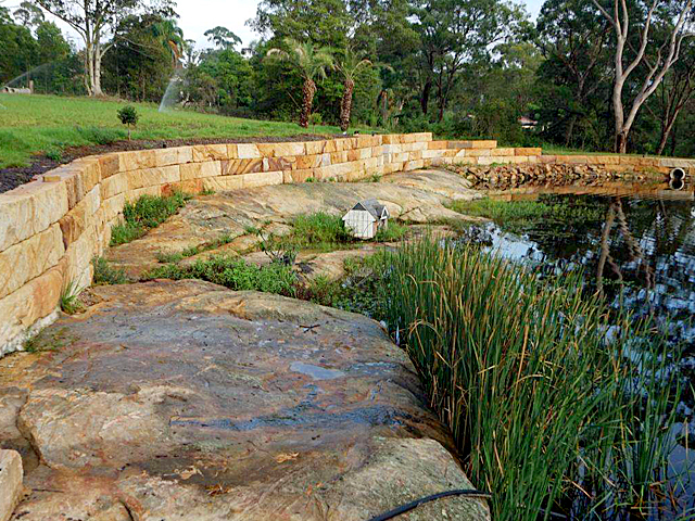 6 Options For Your Next Sandstone Retaining Wall Project Project Ods