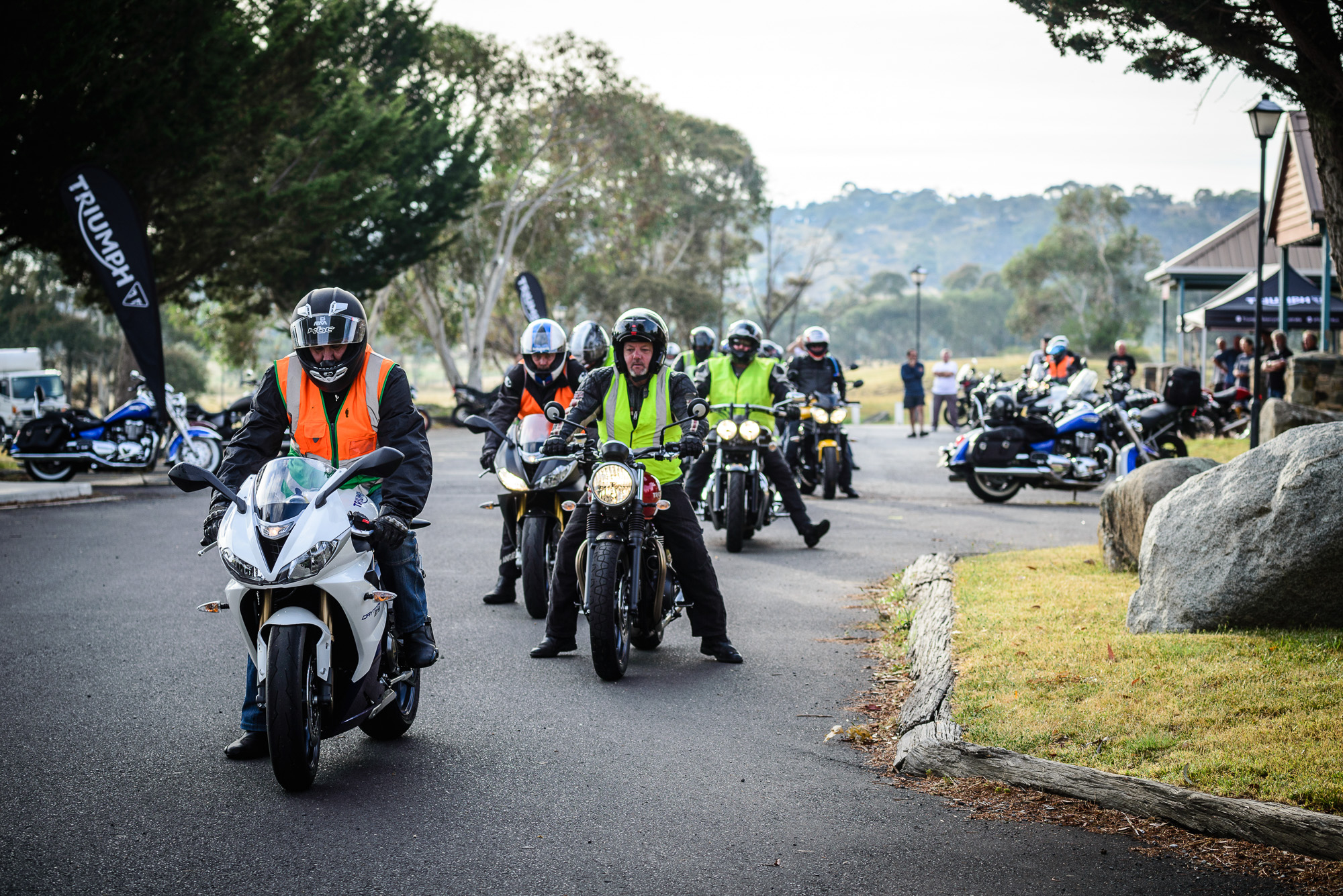 2016 Triumph National RAT Rally.