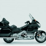Studio side black 2008 Goldwing