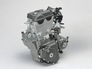 2018 Suzuki RM-Z450, engine.