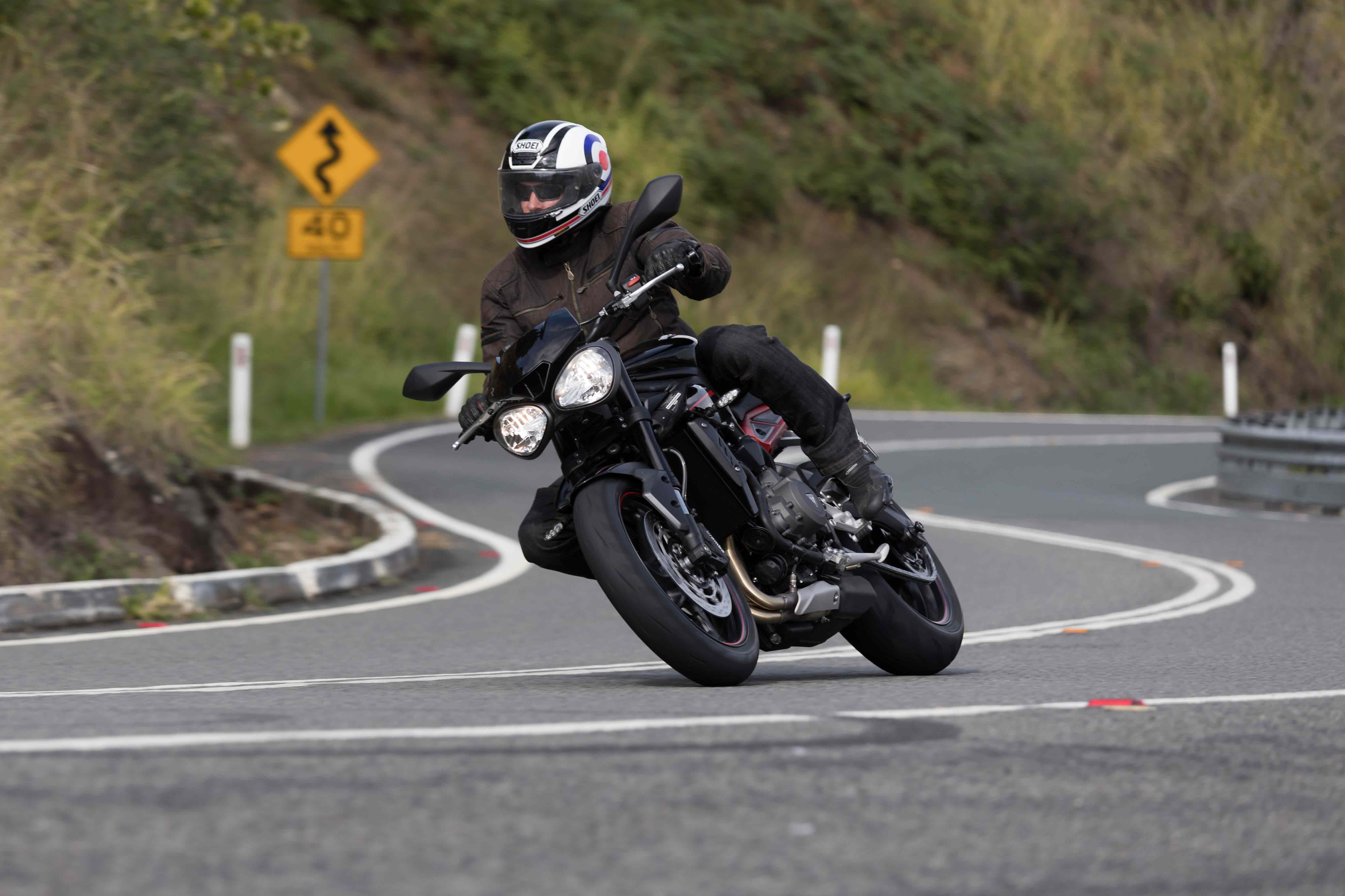 Launch Report Triumph Street Triple Range Road Rider Magazine