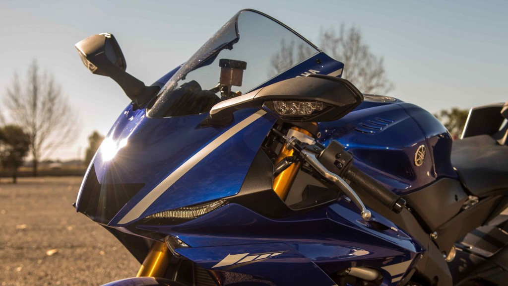 Yamaha YZF-R6 launch report