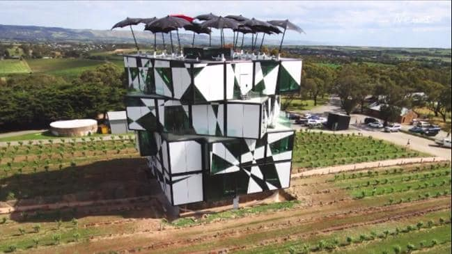 d'Arenberg Cube in McLaren Vale  (supplied)