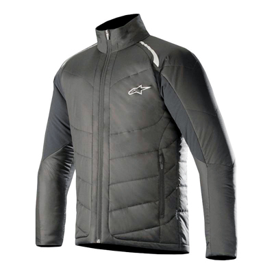 The lightweight Vision Thermal Liner is designed to be worn on its own or under a riding outer garment and can be conveniently packed away. It incorporates an advanced PrimaLoft® Gold Insulation Eco for excellent warmth-to-weight ratio. The material's advanced ultra-light fibres trap heat while insulating from cold and are water-resistant, which in turn ramps up their thermal capabilities, maintaining 98 per cent of warmth. Provides excellent thermal capabilities thanks to advanced insulation technology and incorporates stretch panels for movement and comfort.