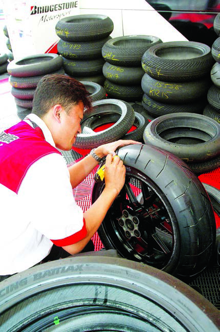 Motorcycle Tyre Repair