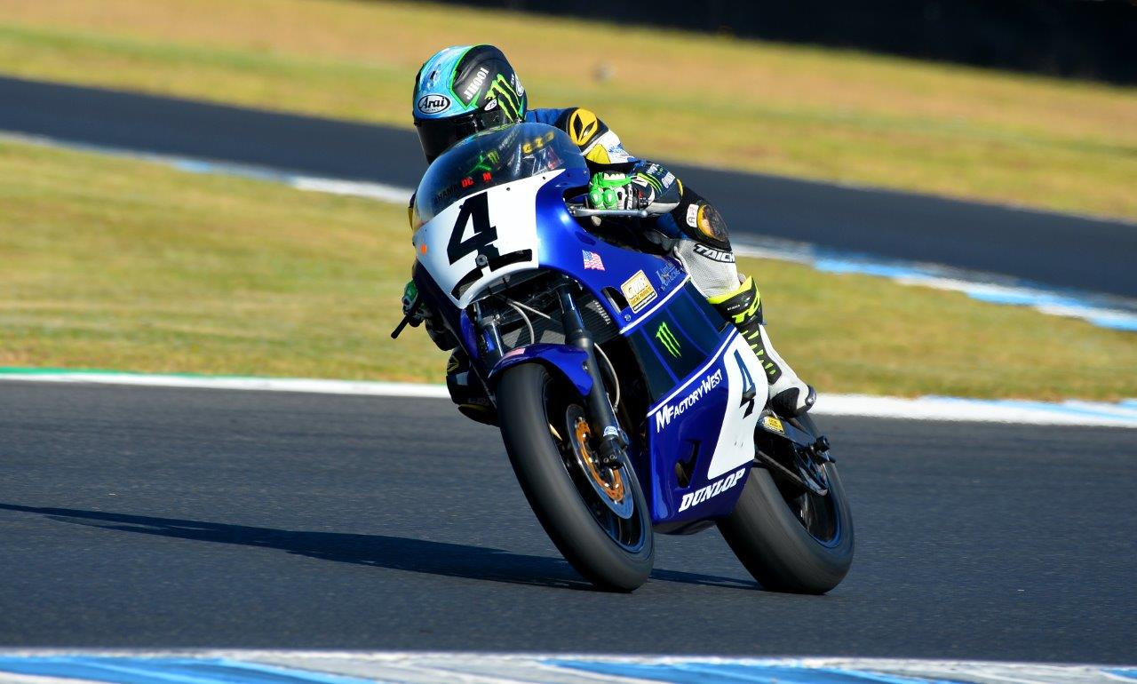 Josh Hayes raced the MojoYamaha at the Island Classic_Image Russell Colvin 001