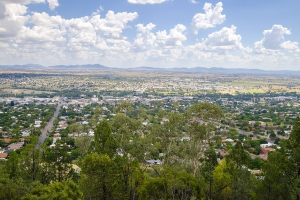 Oxley Scenic Lookout, Tamworth