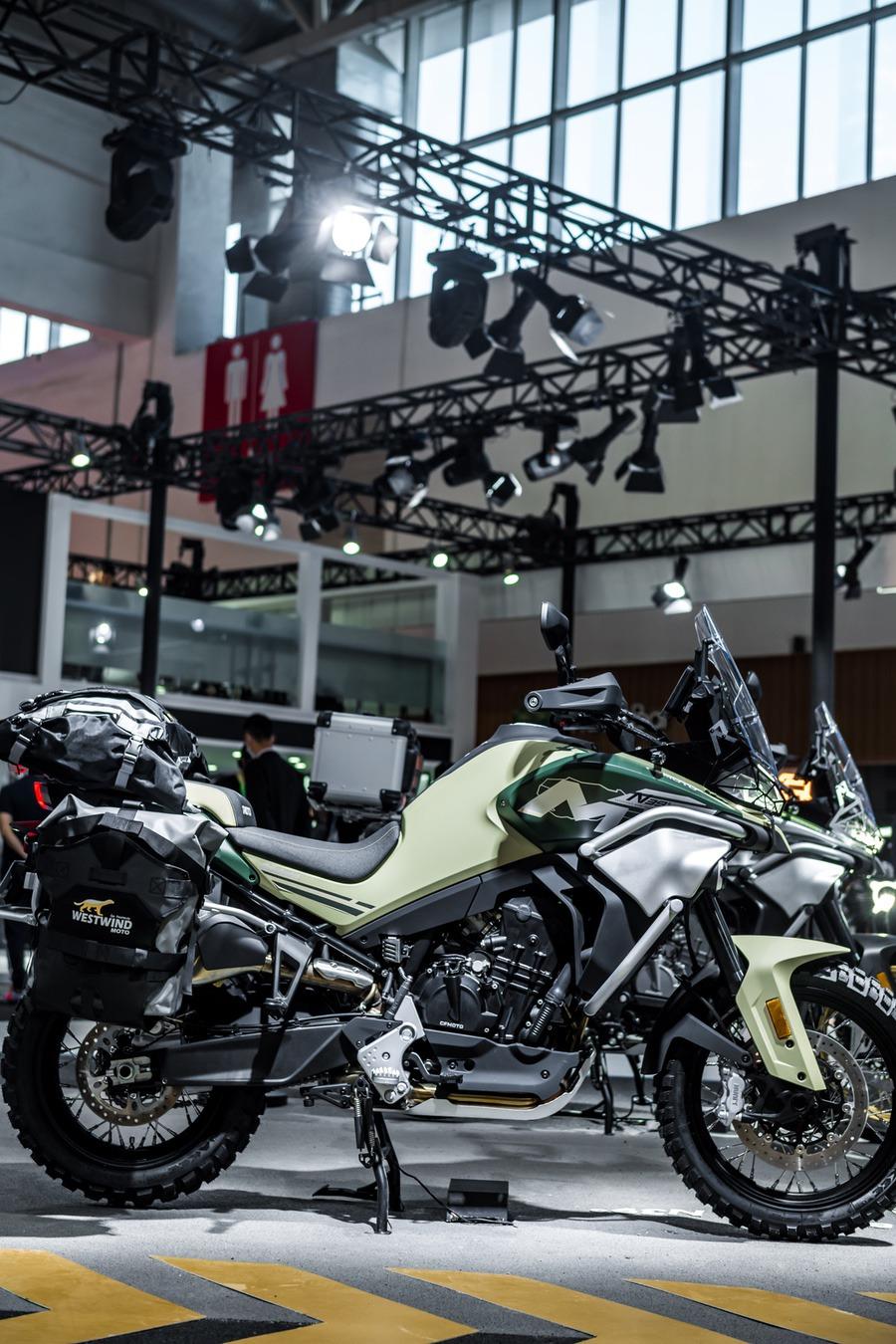 Beijing Moto Show 800MT 5