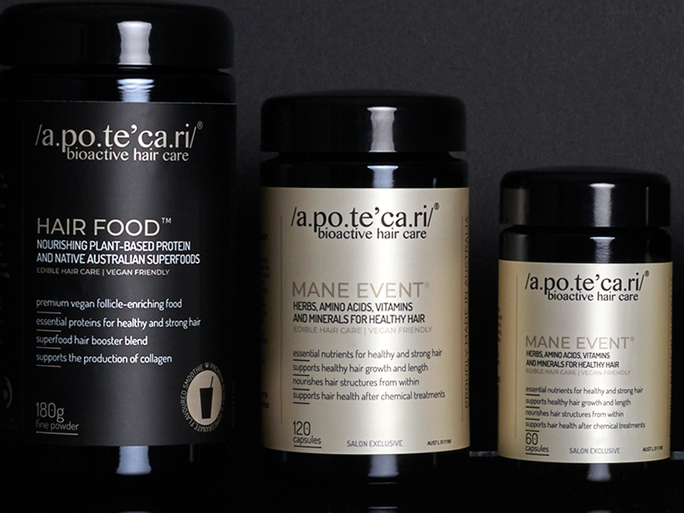 WILD LOVES - discover Hair Food by trichology experts Apotecari