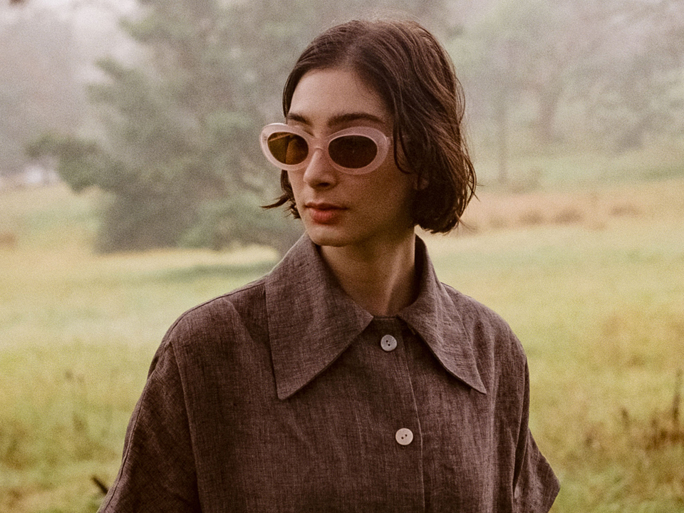 WILD LOVES - Paloma Rose sunglasses by auor and Cawley Studio