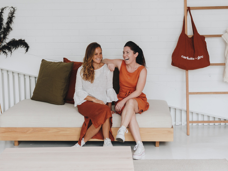 In bed with carlotta and gee: We get to know the founders of the brand