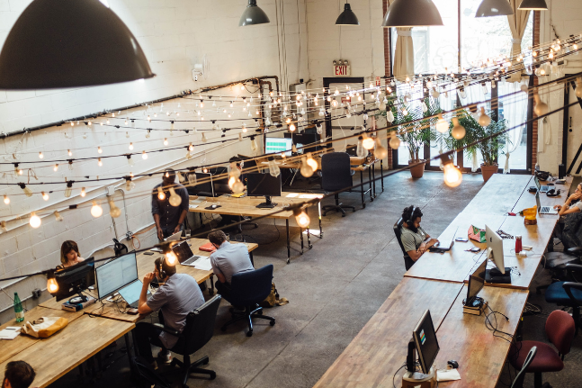 Are co-working spaces the office of the future?
